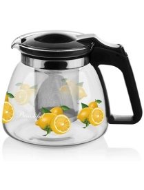 (84994) 17910 Заварочный чайник 900 мл., жаропрочное стекло, метал. фильтр