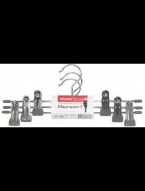 (85195) 60367 Набор вешалок металлических для юбок/брюк Маргарет-3 (3 шт)
