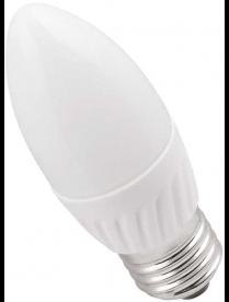 (80963) Лампа светодиодная ECO C35 свеча 5Вт 230В 3000К E27 ИЭК LLE-C35-5-230-30-E27