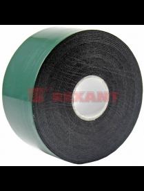 09-6140 Двухсторонний скотч, зеленого цвета на черной основе, 40мм, 5метров REXANT