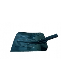 (85743) Лопата снеговая ЛСУоц 390*370мм (Оцинкованная сталь1мм)
