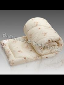 Одеяло Василиса 1,5 поплин Шерсть мериноса