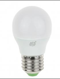 016.2411 LED-СВЕЧА-standard 7.5Вт 160-260В Е27 3000К 600Лм ASD светодиодная