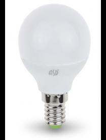 016.2409 LED-СВЕЧА-standard 7.5Вт 160-260В Е14 3000К 600Лм ASD светодиодная