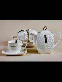 (79119) CPT0110-A Набор чайный 6/13 240мл.900мл ф.квадр. п/у снежная королева/з CPT0110-A