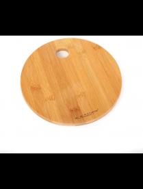 (87074) КТ-ДР-202 Доска раздел. бамбук Д220*15мм №2 круглая