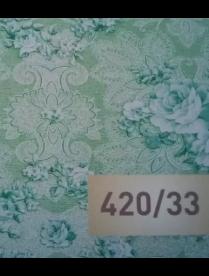 (82187) 420/33 Клеёнка столовая 1,36-1,40*25м ПВХ Колорит