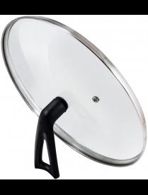 987032 Крышка G-type (закал стекло) с бакелитовой ручкой, 22 см, VETRO-SPECIAL, тм Mallony