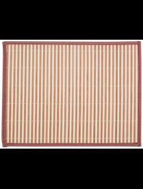 312351 Салфетка сервировочная из бамбука BM-06, цвет: бело-коричневый, подложка: EVA