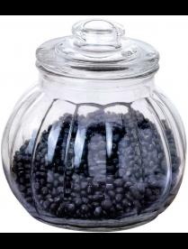 003609 Стеклянная банка для сыпучих продуктов с крышкой BOLLA, объем: 2.25 л, тм Mallony
