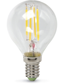 016.2530 LED-ШАР-deco 5Вт 230В Е14 4000К 450Лм прозрачная IN HOME