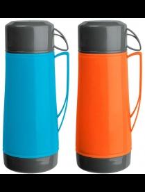 003688 Термос в пластик корп, объем -1.8 л,стекл колба с 2-ми ст-ми (1 чашка), серия LUMINOSO, тм Ma