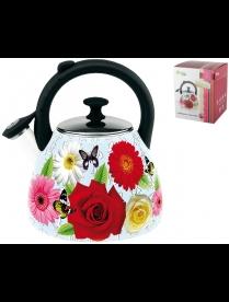 (88810) FT19-1-09C0024 Чайник 2.5л Роза