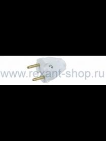 11-8501 Вилка универсальная без з/к 6А Rexant