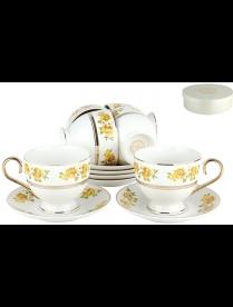 (85508) TC38R Набор чайный 6/12 ф.классическая 250мл.п/у2Желтые розы