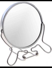 "Зеркало настольное 7"" круглое на подст."