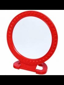 Зеркало настольное в пласт. оправе круг 12 см