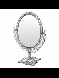 Зеркало настольное в резной оправе Версаль-овал 11-15 см