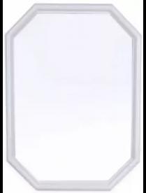 """(29287) Зеркало """"Октавия"""" (снежно-белый) А0201"""