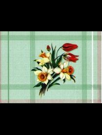 (80865) 315/4 Клеенка ПЕРМСКАЯ тк/о 130см*25м нарцисс зелёный