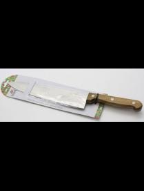 (90090) AST-004-НК-008 Нож кухонный 20,0см разделочный с дер. ручкой