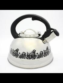 (90101) КТ-109 Чайник 3,0л индукция меняет цвет при нагревании