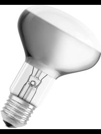 (03391) Э/лампа ЗД 220-230-100 Е27 (R80)