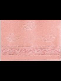 Полотенце Aquarelle МХ42 35/70 Лотос розово-персиковый /аметистовый/орхидея.