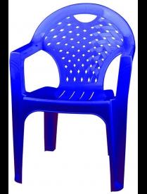 (90350) М2611 Кресло синий (4) М2611