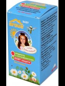 ARGUS baby Комплект детский От комаров 45 ночей (фумигатор универс. с индикат+жидк 30мл) б/запаха