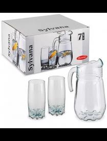 (02300) 97875Бор 97875 Сильвана набор питьевой 7пр (4)
