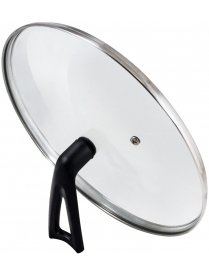 987033 Крышка G-type (закал стекло) с бакелитовой ручкой, 24 см, VETRO-SPECIAL, тм Mallony