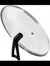 987035 Крышка G-type (закал стекло) с бакелитовой ручкой, 28 см, VETRO-SPECIAL, тм Mallony