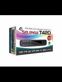 Selenga T42D Цифровой ТВ-тюнер DVD-T2