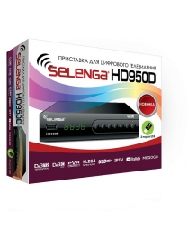 Selenga HD950D Цифровой ТВ-тюнер DVB-T2