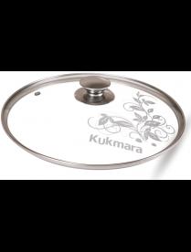 Крышка KUKMARA с24т112 24 см стеклянная