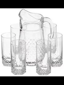 (02305) 97675B 97675 Вальс Набор кувшин и 6 стаканов 315мл (4)