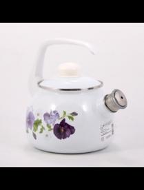 """(92659) 2711АП/4Рч """"Анютины глазки"""" Чайник 2,5 литра"""