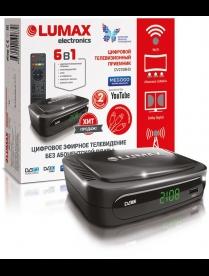 LUMAX DV2108HD Цифровой ТВ-тюнер DVB-T2
