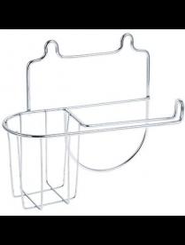 Держатель для туалетной бумаги и освежителя воздуха Slim арт.27 10 42 ARTEX 478-015