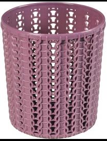 (94138) М2384 Подставка ВЯЗАНИЕ круглая пурпурный