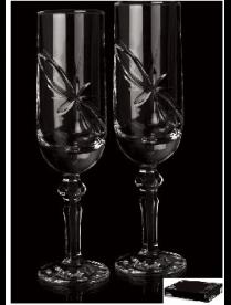 (94289) P89906B Набор 6 фужеров для шампанского V180ml/H210mm/Ф51-57mm, 6oz P89906B