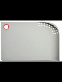 Доска разделочная SATOSHI Премьер со сливом 34х23,5см, пластик 851-114