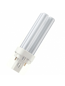 (17212) Лампа PHILIPS PL-C 13W/827/2P G24d1