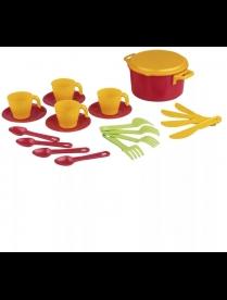"""(77170) М2225 Набор игрушечной посуды """"Хозяйка"""" (стол.4 перс)"""