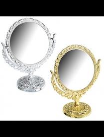 301-050 Зеркало настольное круглое, d22х17,5см 0813