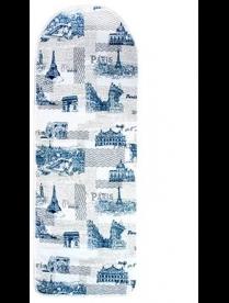 451-072 VETTA Город Чехол для гладильной доски на шнурке, 130х50см