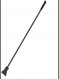 Ледоруб с топором Б-2 (сварной) с мет. и резиновой ручкой