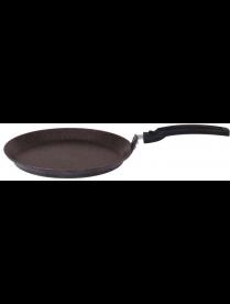 (93891) сбмк200а Сковорода блинная 200мм АП (кофейный мрамор)