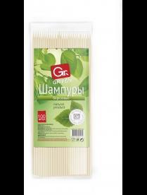 (95781) 400-105 Шампуры деревянные GRIFON, 250 мм в упаковке, 100 штук